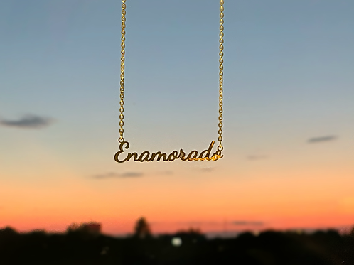 """""""All About Me"""" Custom Necklace"""