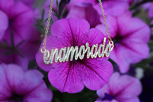 """""""Icy"""" Name Necklace"""