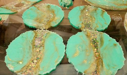 Tiffany's Opal Coasters