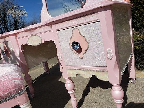 """Princess Pearl"" vanity"