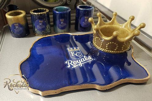 Royals Crown Tray