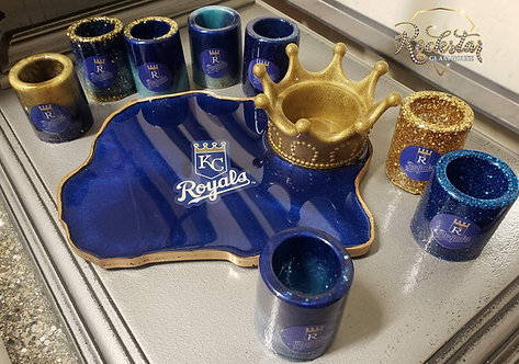 Royals Shot Glasses (4)