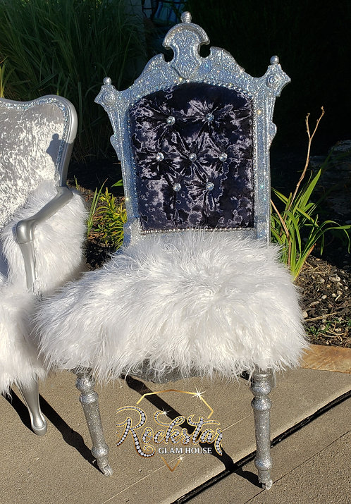 Mila glitter chair