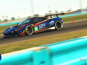 The iRacing 24 Hours of Daytona
