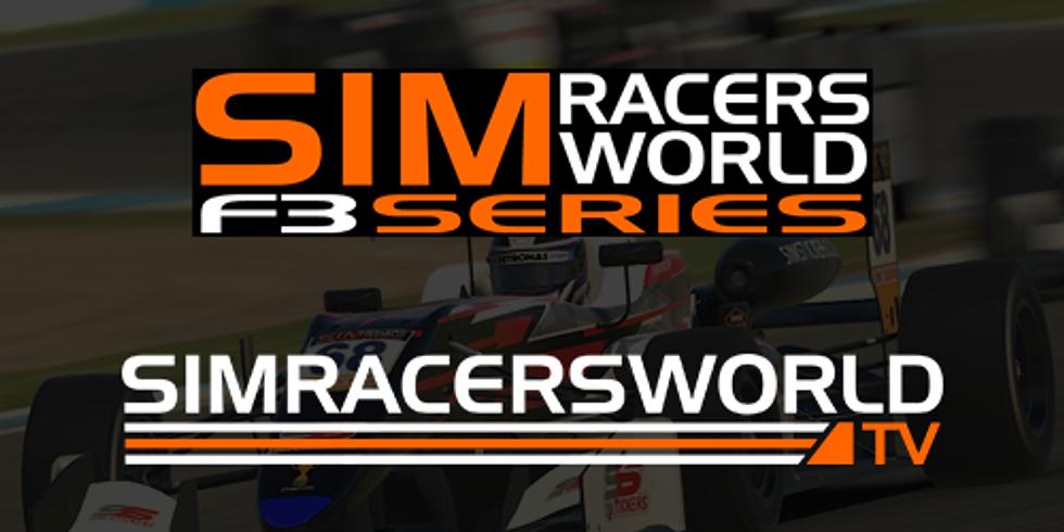 Sim Stickers Simracersworld Formula 3 Series - Oulton Park
