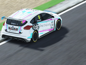Chaz joins Zansho Simsport (and starts racing again!)
