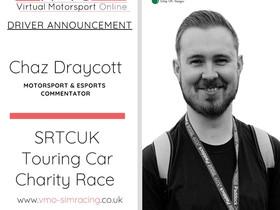 Chazlington to Race in VMO's SRTCUK Touring Car Charity Race
