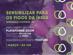 Webinário COOPERA_RS: Sensibilizar para os Figos da Índia