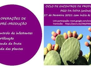 Ciclo de encontro de produtores de Figo da Índia (Online)