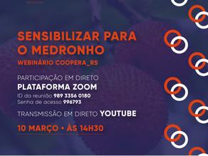 Webinário COOPERA_RS: Sensibilizar para o Medronho