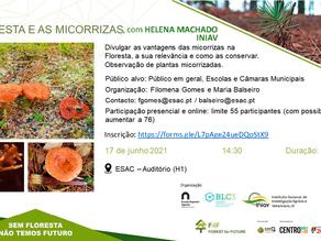 "Seminário ""A floresta e as micorrizas"""