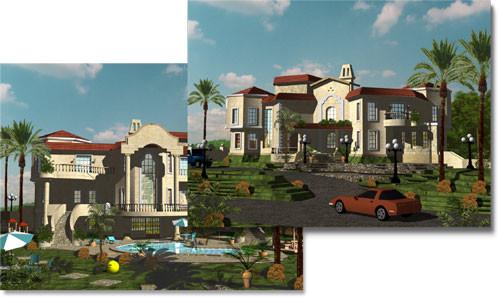 Architectural Design 3D Modeling
