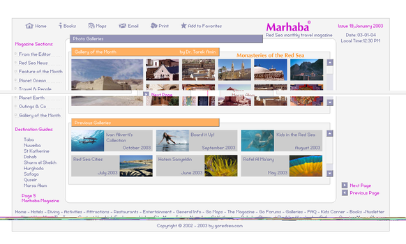 Marhaba Magazine Website