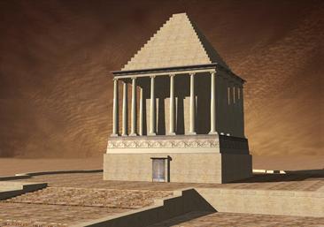 3D Modeling VR Mausoleum