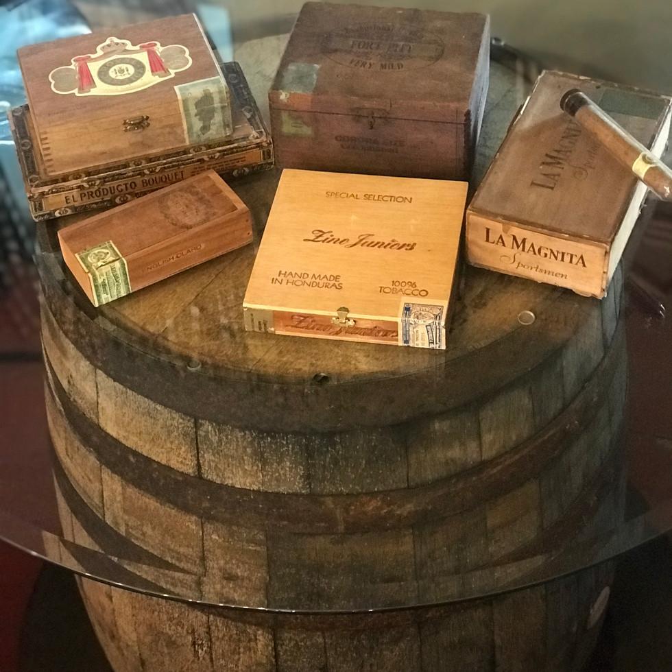 Vintage Cigar Boxs