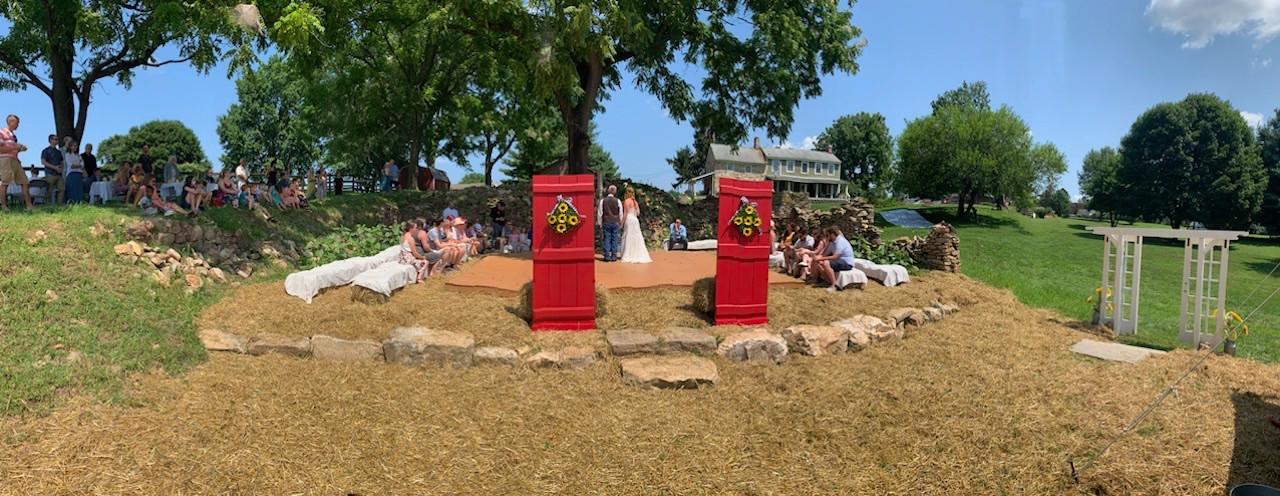 Farmhouse Wedding at Fair Hill