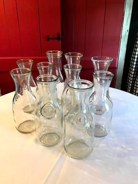 Glass Milk Jugs - $2 ea