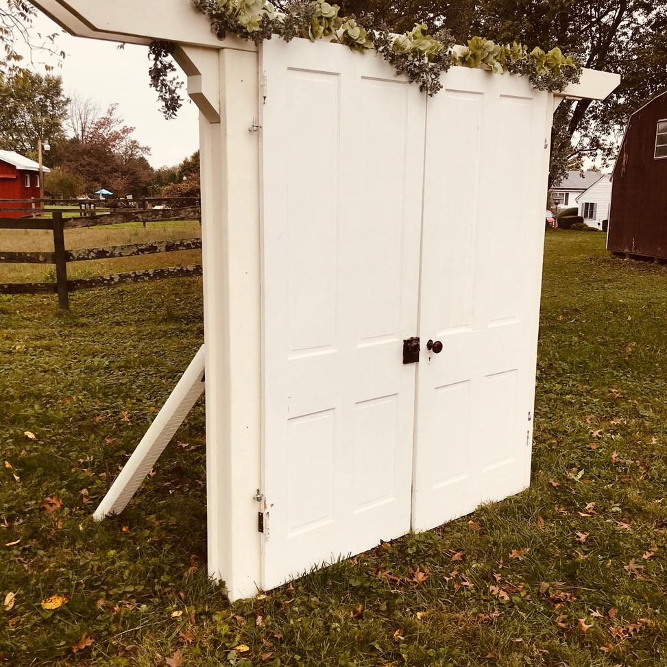Vintage Farmhouse Door Arbor