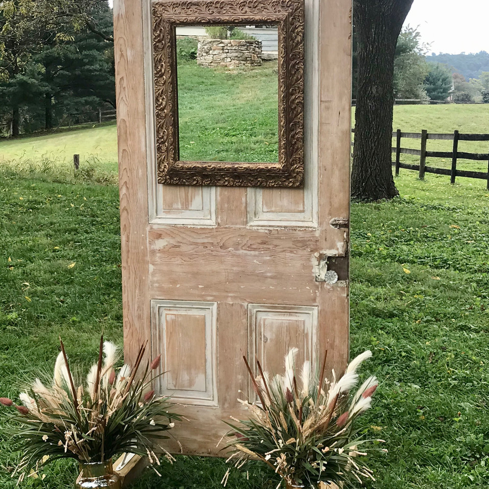 Farmhouse Door Backdrop