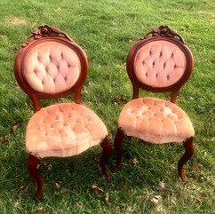 Blush Upholstered Chairs