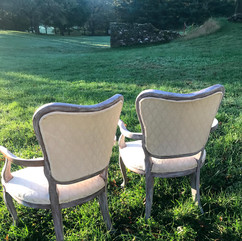 Antique Sweetheart Chairs