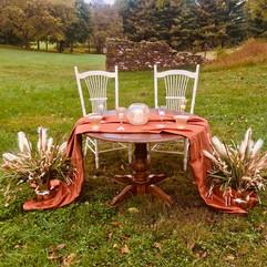 Sweetheart Table & Chairs