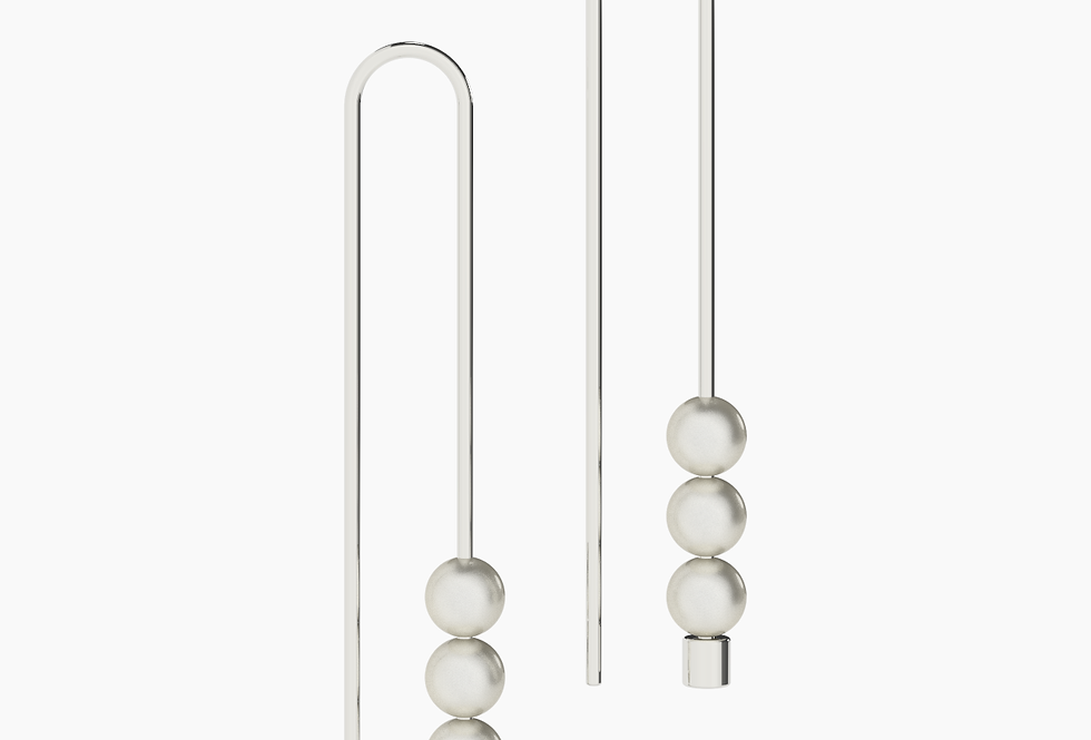U3 PEARL EARRINGS