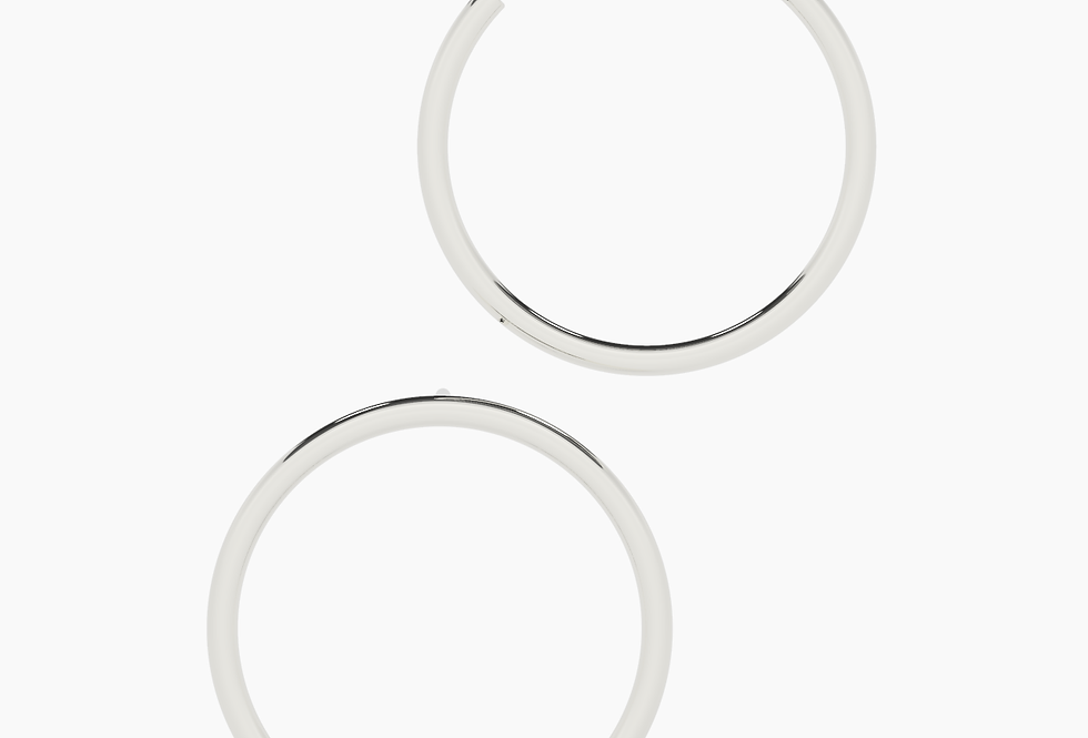 LARGE ASYMMETRIC HOOPS