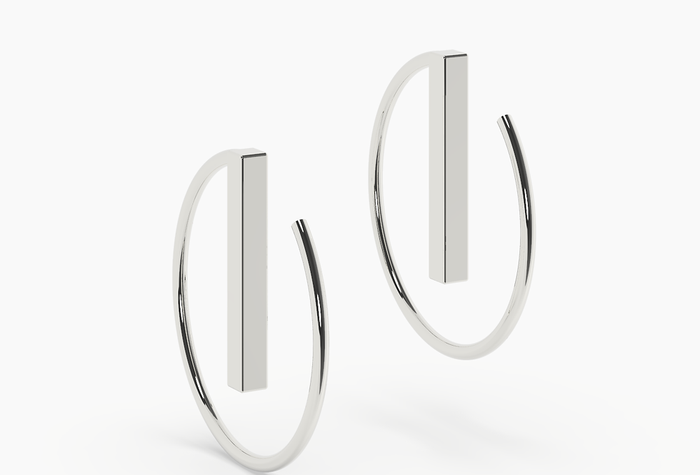 SMALL LINE HOOPS
