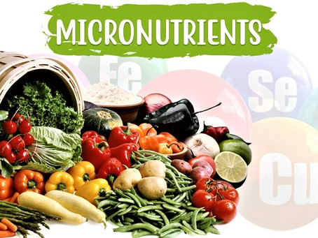 Micronutrients: Vitamins, Minerals, and Phytonutrients