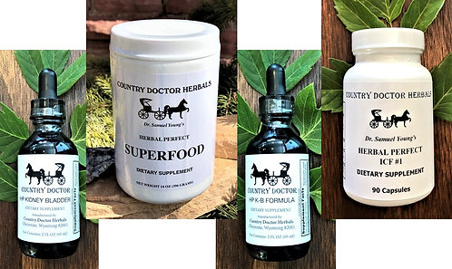 Country Doctor Kidney/Bladder Cleanse (Tincture)