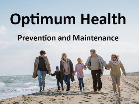 Checking Out Optimum Health