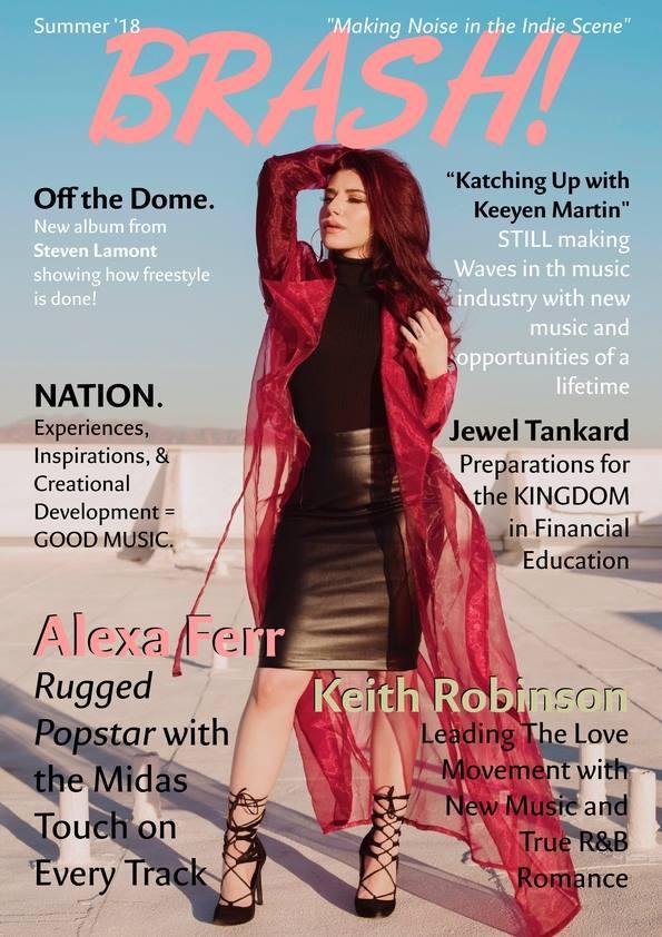 Alexa Ferr for BRASH! Magazine