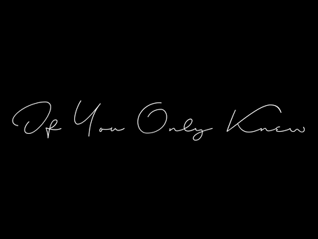 New Single: #IFYOUONLYKNEW