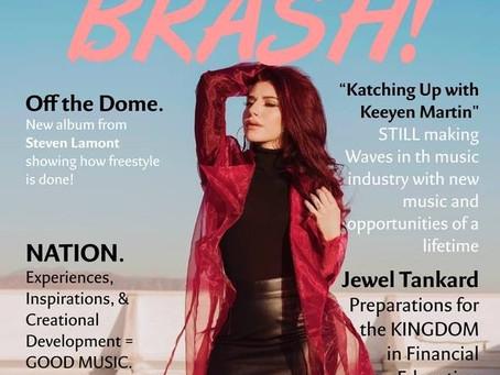 Alexa Covers BRASH! Magazine's Summer '18 Issue