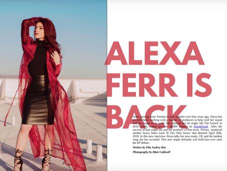 Alexa Featured in Gold Crwn Magazine's Summer '18 Issue