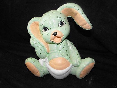 Softie baby bunny bank