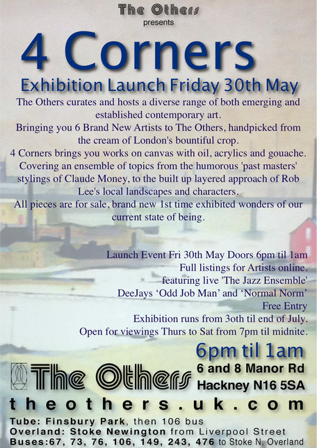4 Corners Exhibition, The Others Gallery The Others curates and hosts a diverse range of both emergi