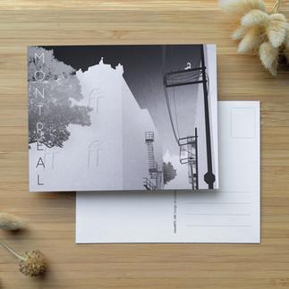 monMTL Noir & Blanc ⎪ 2.50 $