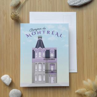 Maison Violette ⎪ 2.50 $