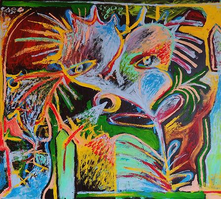 Peinture de l'artiste kune