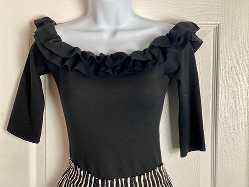 Zara Ruffles Bodysuit