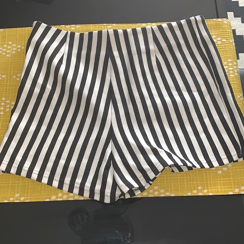 Forever 21 Highwaist Striped Shorts