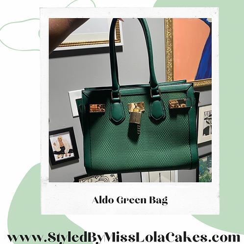 Aldo Green Bag