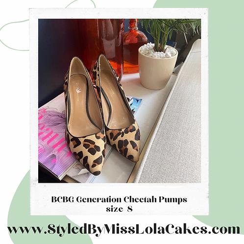 BCBG Cheetah Pumps