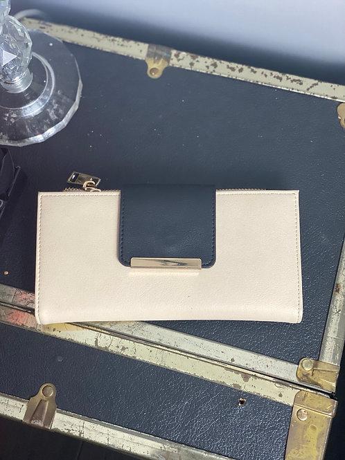 Aldo Black & Cream Wallet