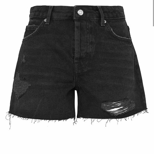 Top Shop Distressed Boyfriend Shorts