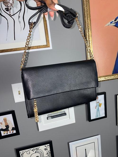 Aldo Black Clutch/Crossbody Bag