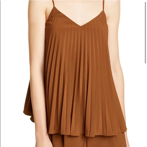 A Tibi Edith Pleated Camisole