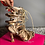 Thumbnail: Snake Skin Heeled Lace Up Sandals